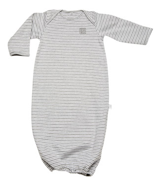 Спальник/Пижама 100% хлопок Bundler sleep sack Grey Stripe
